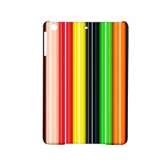 Colorful Striped Background Wallpaper Pattern Ipad Mini 2 Hardshell Cases