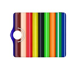 Colorful Striped Background Wallpaper Pattern Kindle Fire Hdx 8 9  Flip 360 Case