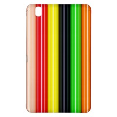 Colorful Striped Background Wallpaper Pattern Samsung Galaxy Tab Pro 8.4 Hardshell Case