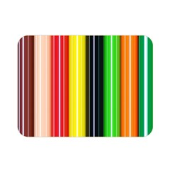 Colorful Striped Background Wallpaper Pattern Double Sided Flano Blanket (mini)