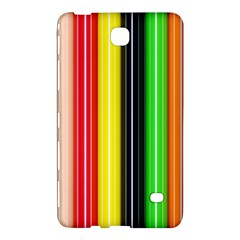 Colorful Striped Background Wallpaper Pattern Samsung Galaxy Tab 4 (7 ) Hardshell Case