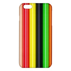 Colorful Striped Background Wallpaper Pattern Iphone 6 Plus/6s Plus Tpu Case