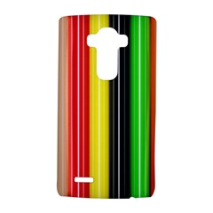 Colorful Striped Background Wallpaper Pattern LG G4 Hardshell Case
