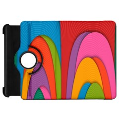 Modern Abstract Colorful Stripes Wallpaper Background Kindle Fire Hd 7