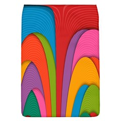 Modern Abstract Colorful Stripes Wallpaper Background Flap Covers (l)