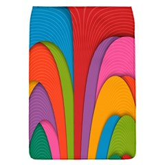 Modern Abstract Colorful Stripes Wallpaper Background Flap Covers (s)