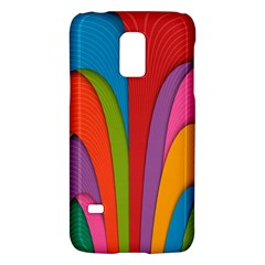 Modern Abstract Colorful Stripes Wallpaper Background Galaxy S5 Mini