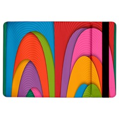 Modern Abstract Colorful Stripes Wallpaper Background Ipad Air 2 Flip