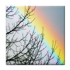 Rainbow Sky Spectrum Rainbow Colors Tile Coasters