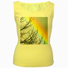 Rainbow Sky Spectrum Rainbow Colors Women s Yellow Tank Top