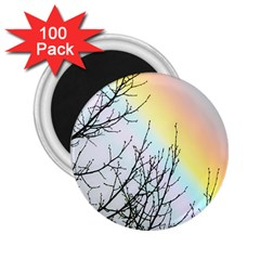 Rainbow Sky Spectrum Rainbow Colors 2.25  Magnets (100 pack)