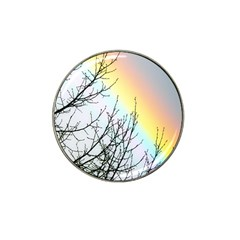Rainbow Sky Spectrum Rainbow Colors Hat Clip Ball Marker (4 Pack)