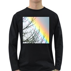 Rainbow Sky Spectrum Rainbow Colors Long Sleeve Dark T Shirts