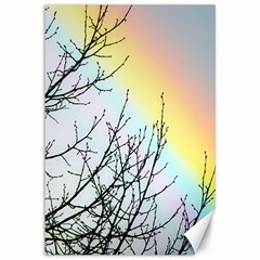 Rainbow Sky Spectrum Rainbow Colors Canvas 12  X 18