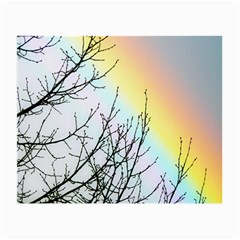 Rainbow Sky Spectrum Rainbow Colors Small Glasses Cloth (2 Side)