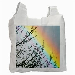Rainbow Sky Spectrum Rainbow Colors Recycle Bag (one Side)