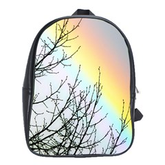Rainbow Sky Spectrum Rainbow Colors School Bags(large)