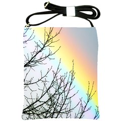 Rainbow Sky Spectrum Rainbow Colors Shoulder Sling Bags