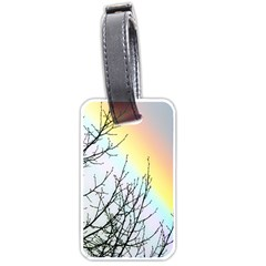 Rainbow Sky Spectrum Rainbow Colors Luggage Tags (one Side)