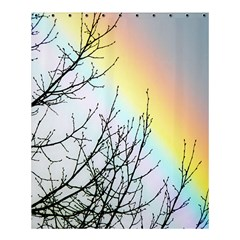 Rainbow Sky Spectrum Rainbow Colors Shower Curtain 60  X 72  (medium)