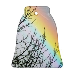 Rainbow Sky Spectrum Rainbow Colors Bell Ornament (Two Sides)