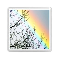 Rainbow Sky Spectrum Rainbow Colors Memory Card Reader (square)