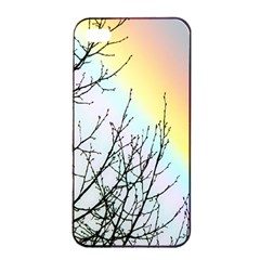 Rainbow Sky Spectrum Rainbow Colors Apple Iphone 4/4s Seamless Case (black)