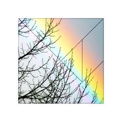 Rainbow Sky Spectrum Rainbow Colors Acrylic Tangram Puzzle (4  X 4 )