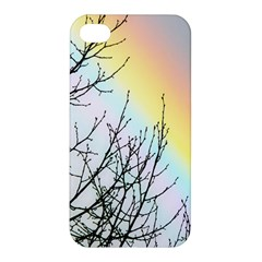 Rainbow Sky Spectrum Rainbow Colors Apple Iphone 4/4s Premium Hardshell Case