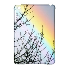Rainbow Sky Spectrum Rainbow Colors Apple iPad Mini Hardshell Case (Compatible with Smart Cover)