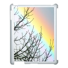 Rainbow Sky Spectrum Rainbow Colors Apple iPad 3/4 Case (White)