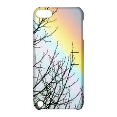 Rainbow Sky Spectrum Rainbow Colors Apple Ipod Touch 5 Hardshell Case With Stand