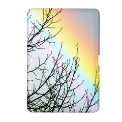 Rainbow Sky Spectrum Rainbow Colors Samsung Galaxy Tab 2 (10 1 ) P5100 Hardshell Case