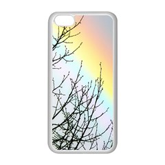 Rainbow Sky Spectrum Rainbow Colors Apple Iphone 5c Seamless Case (white)