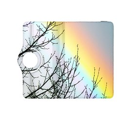 Rainbow Sky Spectrum Rainbow Colors Kindle Fire Hdx 8 9  Flip 360 Case