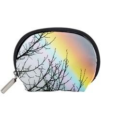 Rainbow Sky Spectrum Rainbow Colors Accessory Pouches (Small)