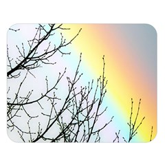 Rainbow Sky Spectrum Rainbow Colors Double Sided Flano Blanket (large)