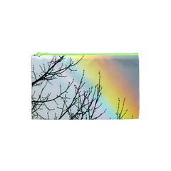 Rainbow Sky Spectrum Rainbow Colors Cosmetic Bag (xs)