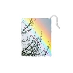 Rainbow Sky Spectrum Rainbow Colors Drawstring Pouches (xs)