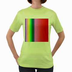 Abstract Paper For Scrapbooking Or Other Project Women s Green T Shirt
