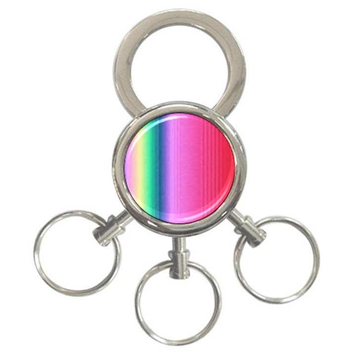 Abstract Paper For Scrapbooking Or Other Project 3-Ring Key Chains