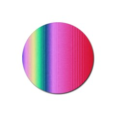 Abstract Paper For Scrapbooking Or Other Project Rubber Coaster (round)