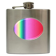 Abstract Paper For Scrapbooking Or Other Project Hip Flask (6 oz)