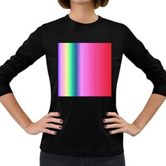 Abstract Paper For Scrapbooking Or Other Project Women s Long Sleeve Dark T Shirts