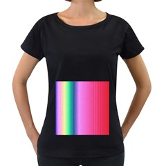 Abstract Paper For Scrapbooking Or Other Project Women s Loose Fit T Shirt (black)