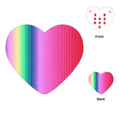 Abstract Paper For Scrapbooking Or Other Project Playing Cards (Heart)