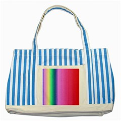 Abstract Paper For Scrapbooking Or Other Project Striped Blue Tote Bag