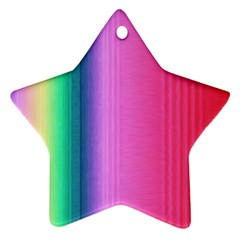 Abstract Paper For Scrapbooking Or Other Project Star Ornament (two Sides)