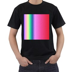 Abstract Paper For Scrapbooking Or Other Project Men s T-Shirt (Black)