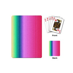 Abstract Paper For Scrapbooking Or Other Project Playing Cards (mini)